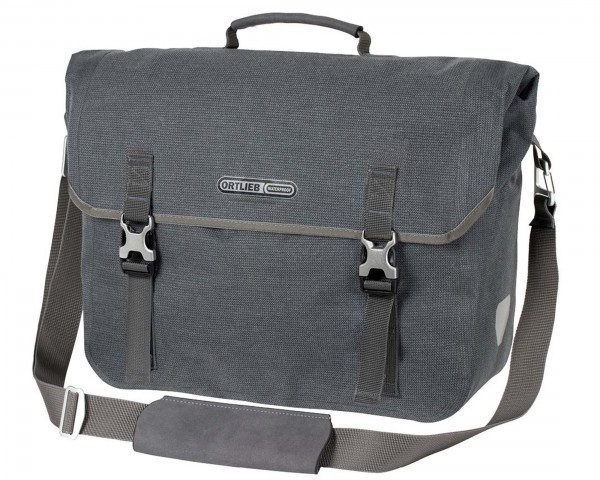 Ortlieb Commuter-Bag Two Urban QL3.1 waterproof bike Business bag (single bag) PVC-free | pepper