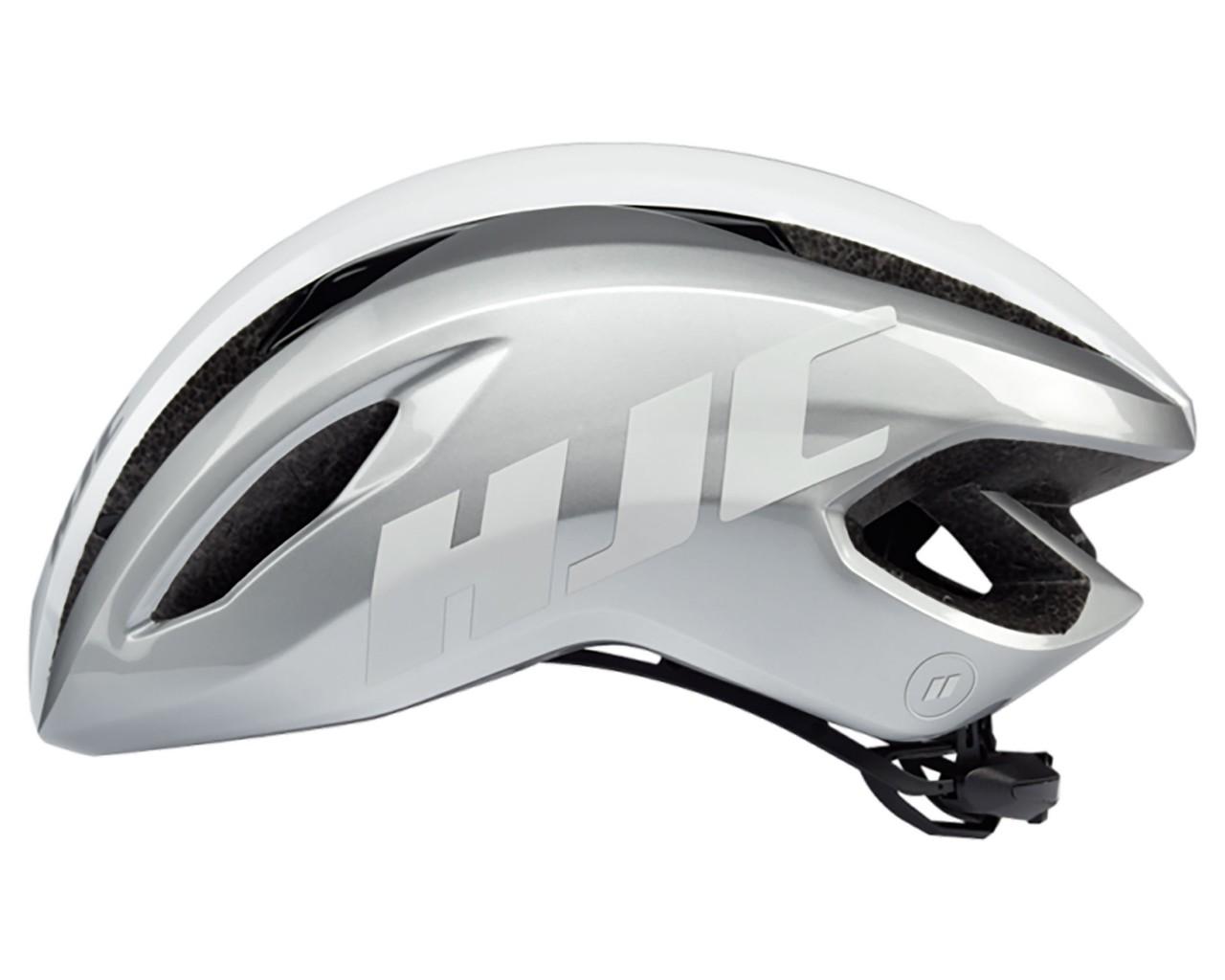 HJC Valeco Rennrad Helm | silver-white