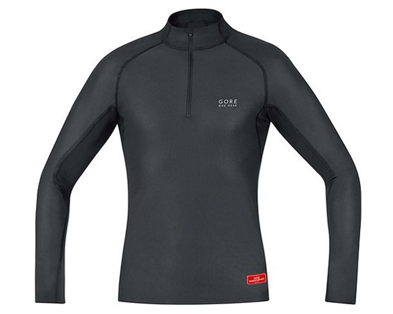 Gore Bike Wear Baselayer Turtleneck Thermo Shirt lang   schwarz