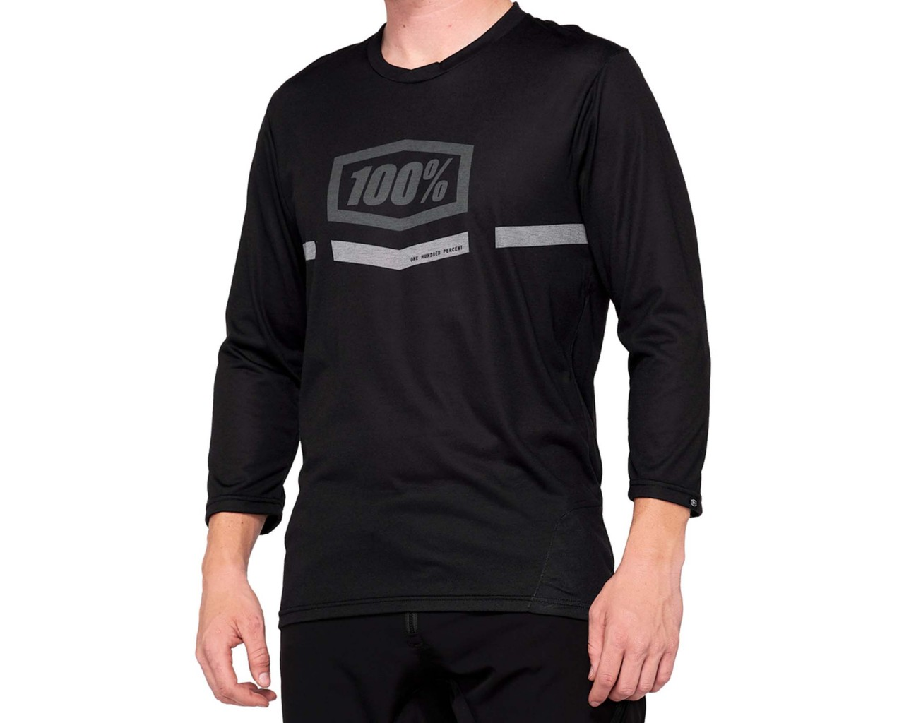 100% Airmatic Enduro-Trail Jersey | black