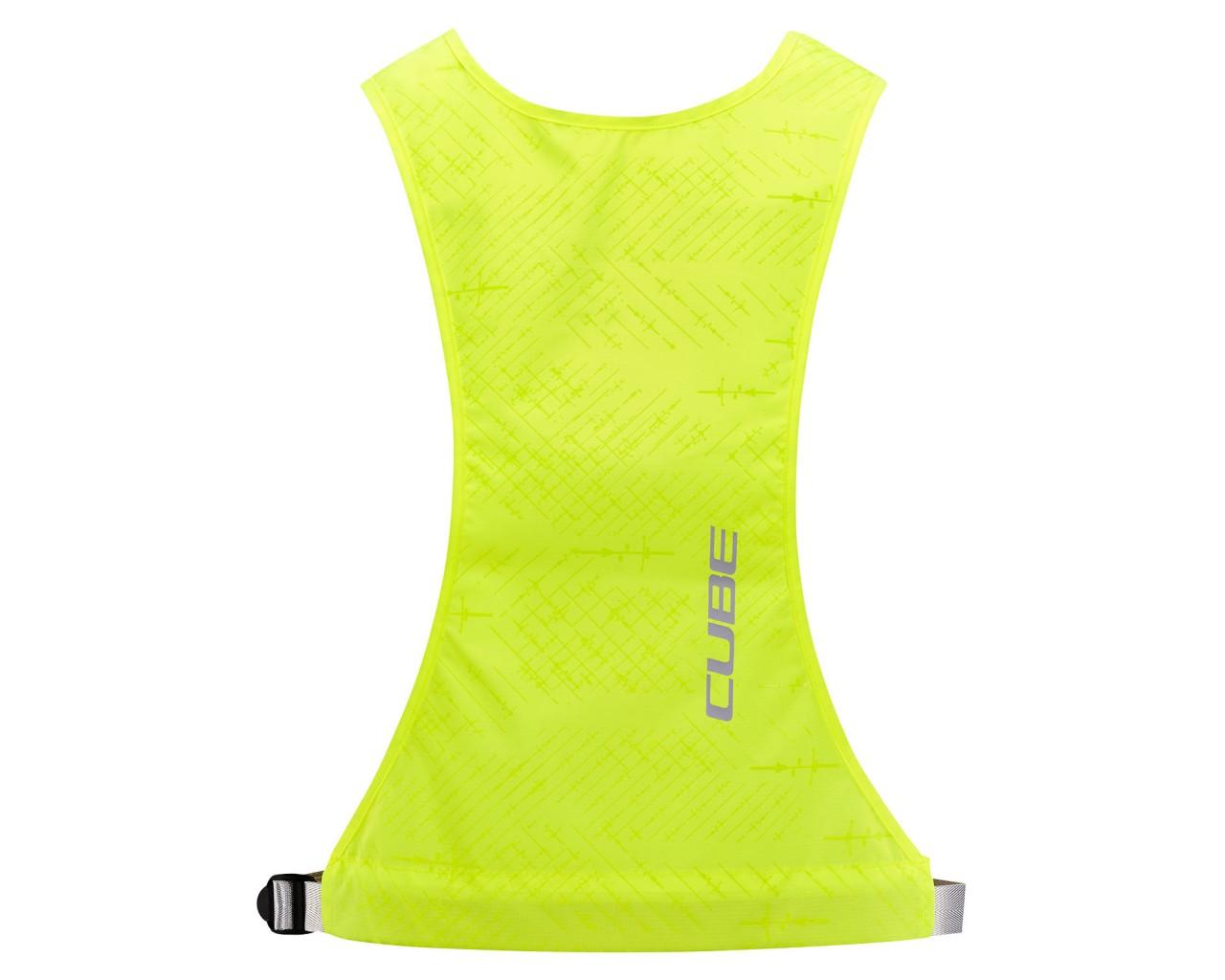 Cube Junior Safety Weste Standard   yellow