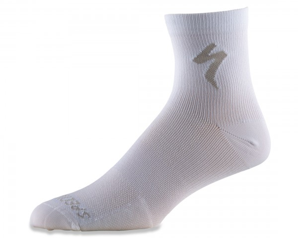 Specialized Soft Air Rennrad Socken mittellang | white