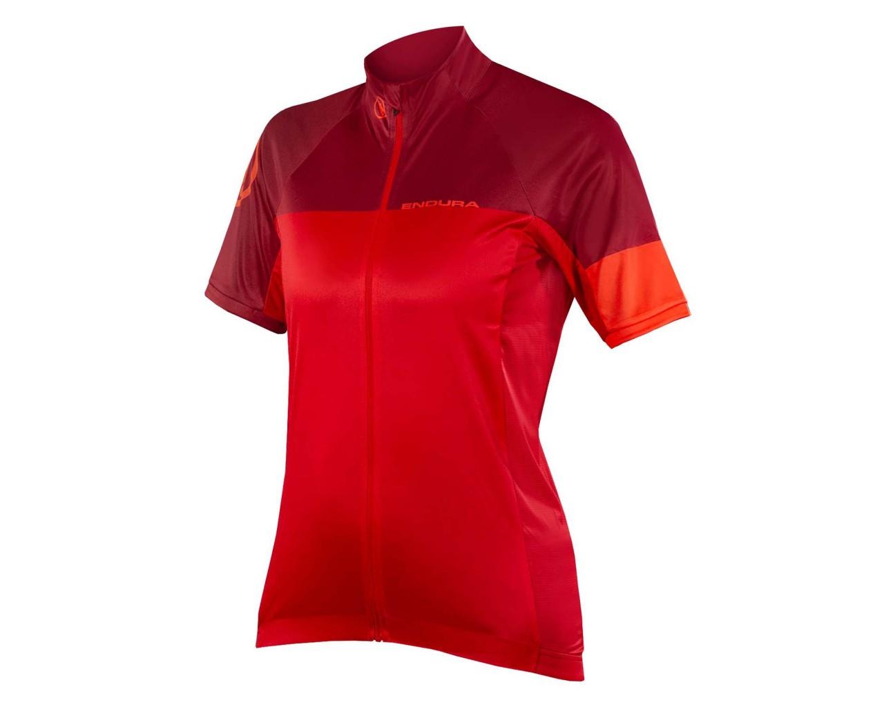Endura Wms Hyperon S/S Jersey II   red