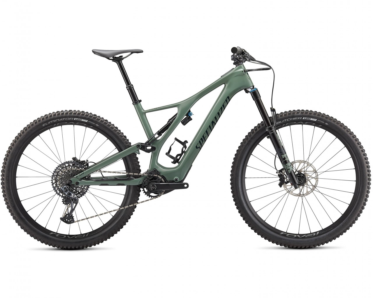 Specialized Levo SL Expert Carbon 29 - Elektro Carbon MTB Fully 2021 | gloss sage-forst green