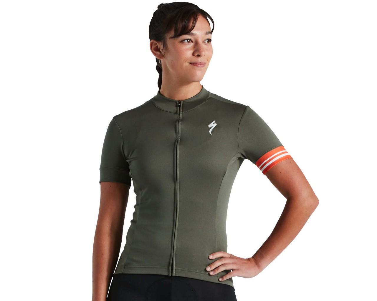 Specialized RBX Sport Logo Damen Trikot kurzarm | military green