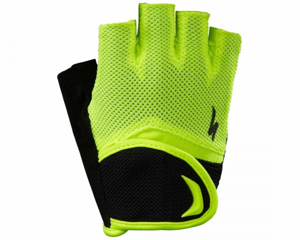 Specialized BG Youth short fingers Gloves | black-neon yellow