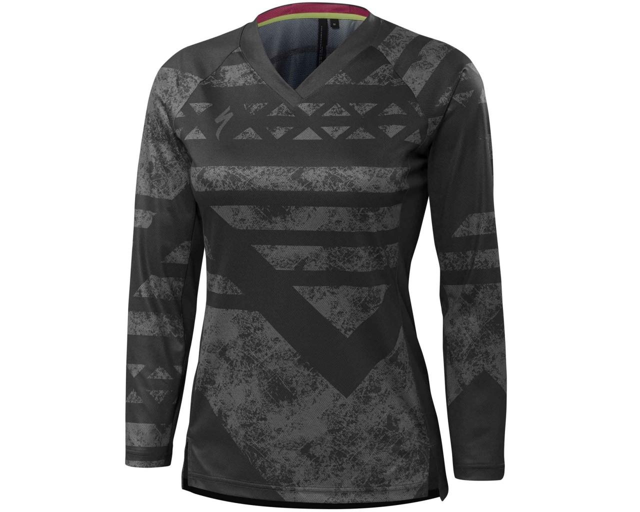 Specialized Womens Andorra jersey long sleeve | phantom