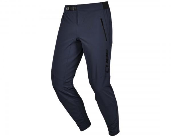 Cube Edge Baggy Pants | blue