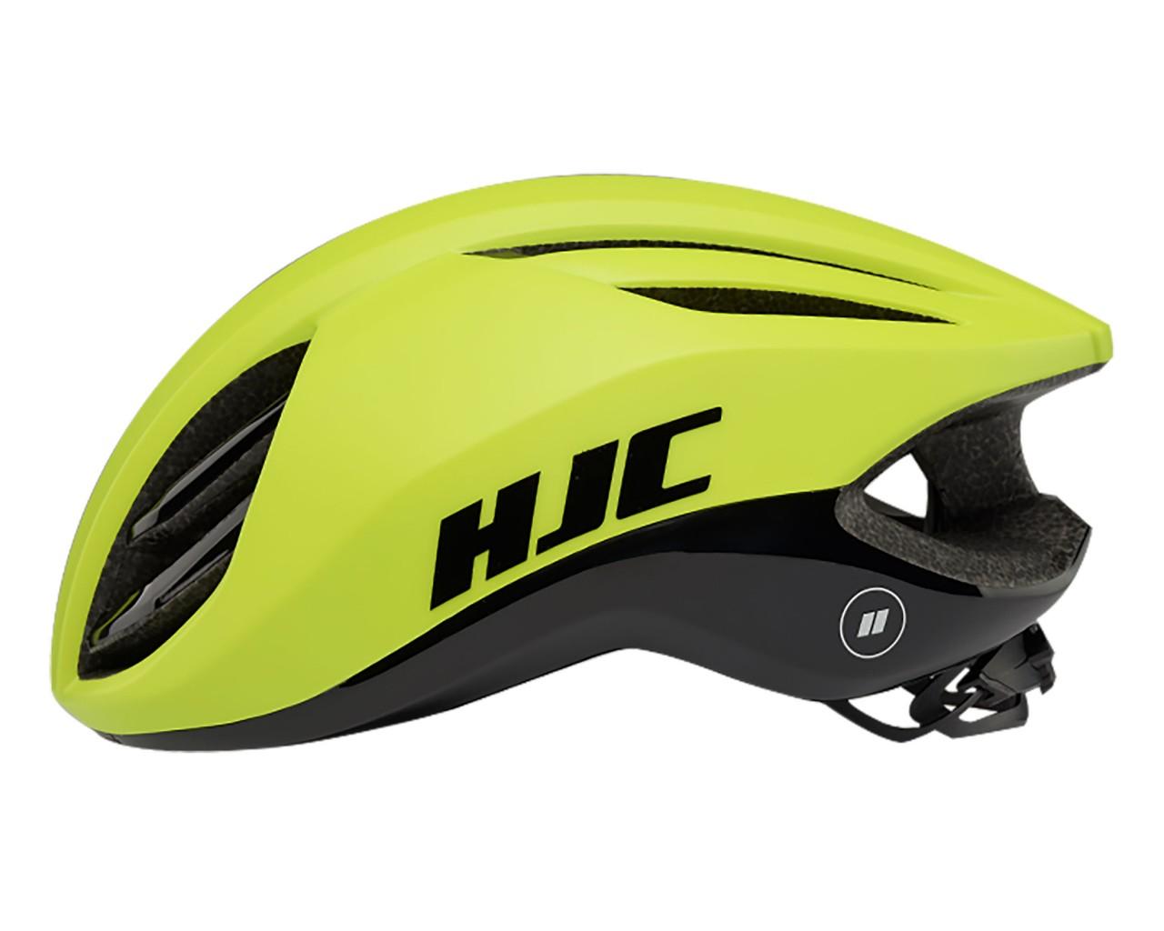 HJC Atara Road Helmet   matt-gloss neon green