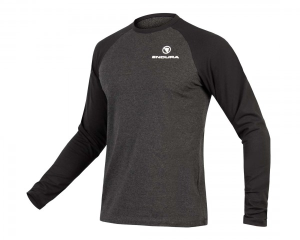 Endura One Clan Raglan Long-Sleeved Shirt| grey