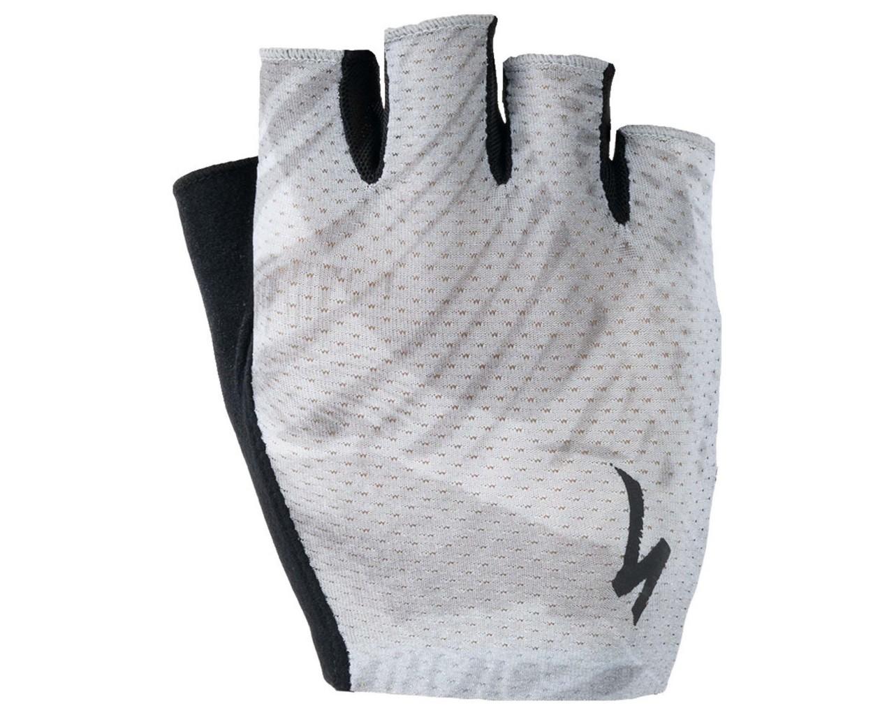 Specialized Body Geometry Grail Gloves short fingers   dove grey fern
