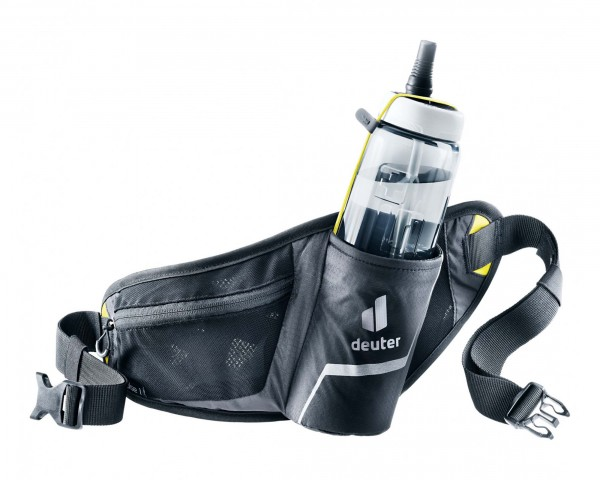 Deuter Pulse 1 Hip Belt Bottle Bag | black