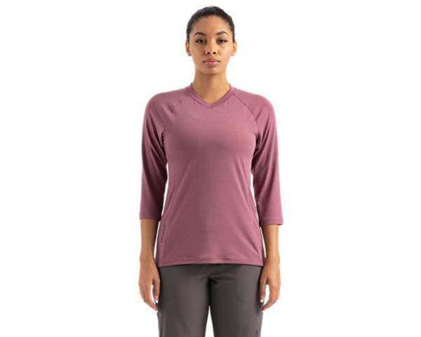 Specialized Andorra Merino 3/4 Trikot Damen | dusty lilac