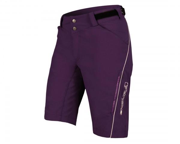 Endura Womens Singletrack Lite Shorts | purple