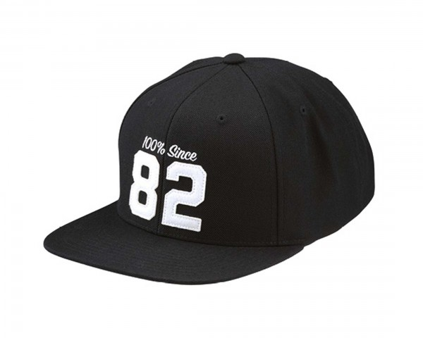 100% Since 82 Snapback Hat | black