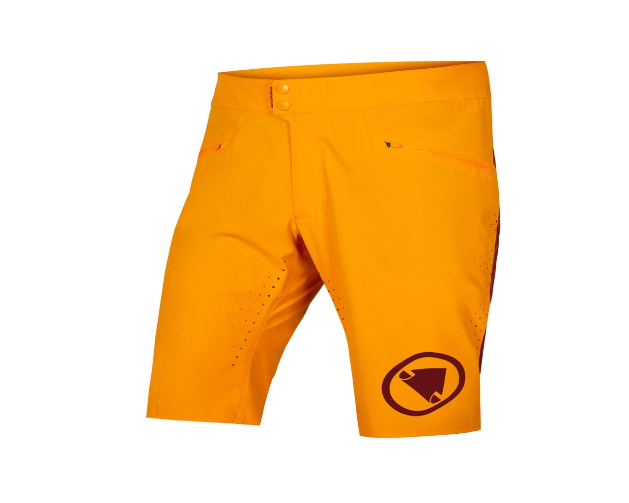 Endura SingleTrack Lite Short Fit Shorts | tangerine