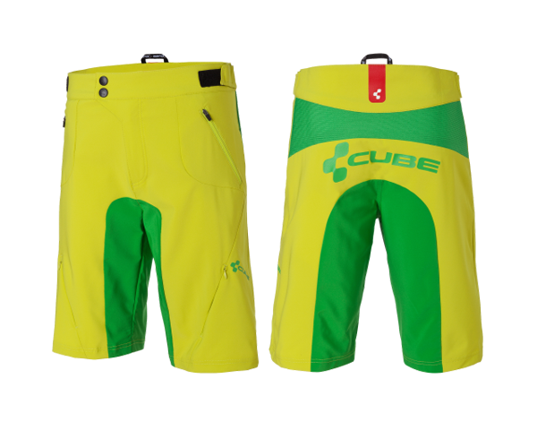 Cube AMS Shorts | Lime