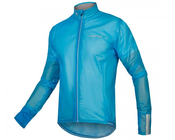 Endura FS260-Pro Adrenaline Race Cape II Regenjacke | neon blue