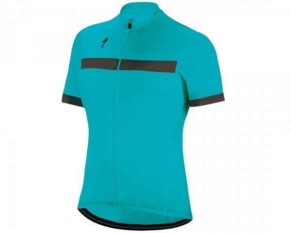 Specialized Womens RBX Sport short sleeve jersey | turquoise-black