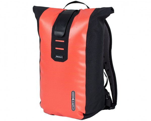 Ortlieb Velocity 17 litres waterproof Bike Backpack | coral-black