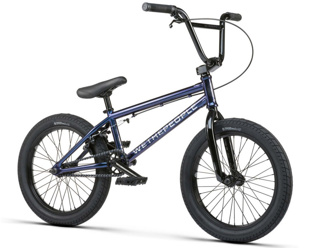 Wethepeople CRS 18 inch - BMX Bike   galactic purple