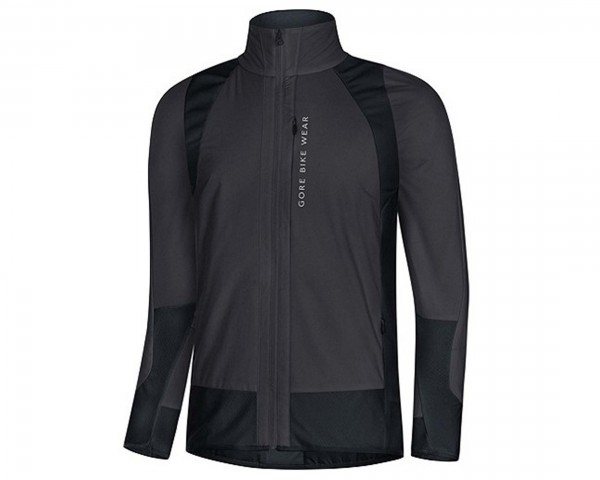 Gore Bike Wear Power Trail Gore Windstopper Insulated (Partial) Jacke | black