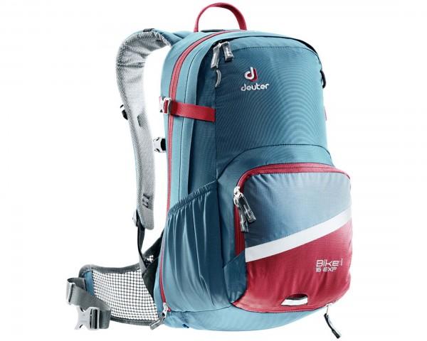 Deuter Bike I Air EXP 16 litre Bike Backpack | arctic-cranberry