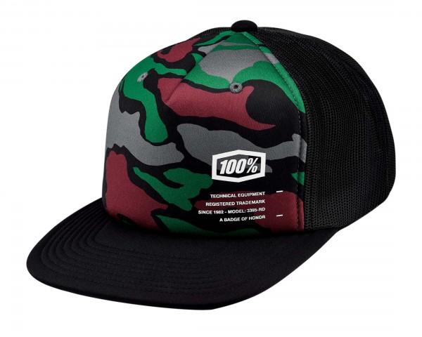 100% Trooper Trucker Hat | camo
