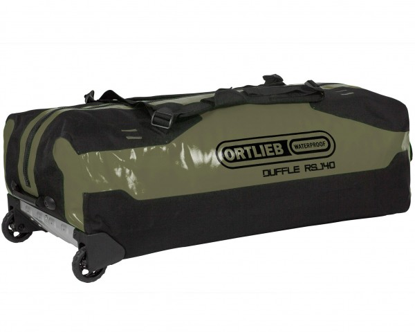 Ortlieb Duffle RS waterproof expedition bag with rolls 140 liter | olive-black