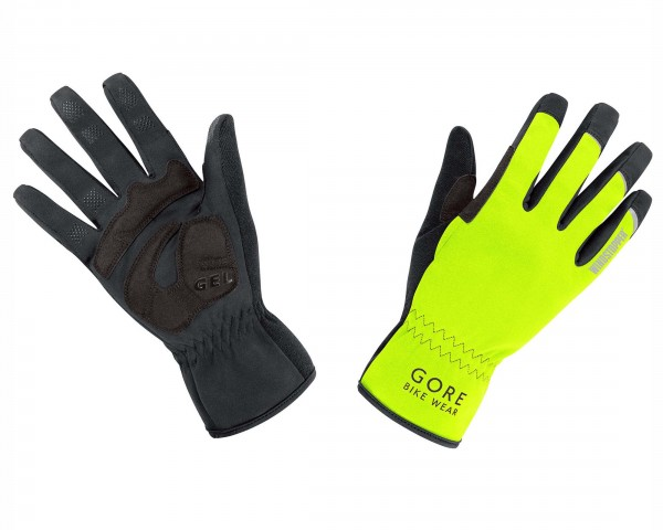 Gore Bike Wear UNIVERSAL WINDSTOPPER Handschuhe | neon yellow-black