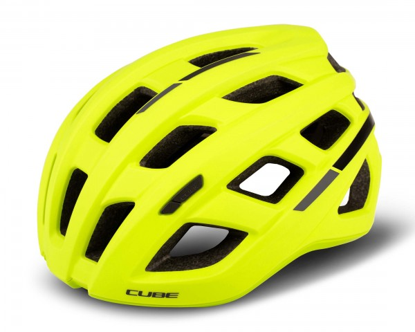 Cube Helm ROAD RACE   gelb