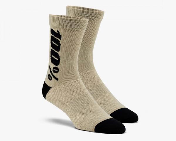 100% Rythym Socken | warm grey