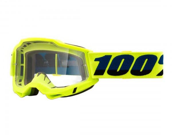 100% Accuri Generation 2 Brille - Antibeschlag und Spiegelglas | Fluo Yellow