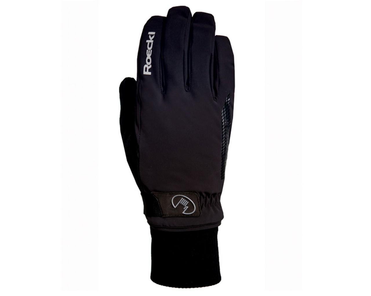 Roeckl Vermes GTX Gore Tex Winter Gloves   black