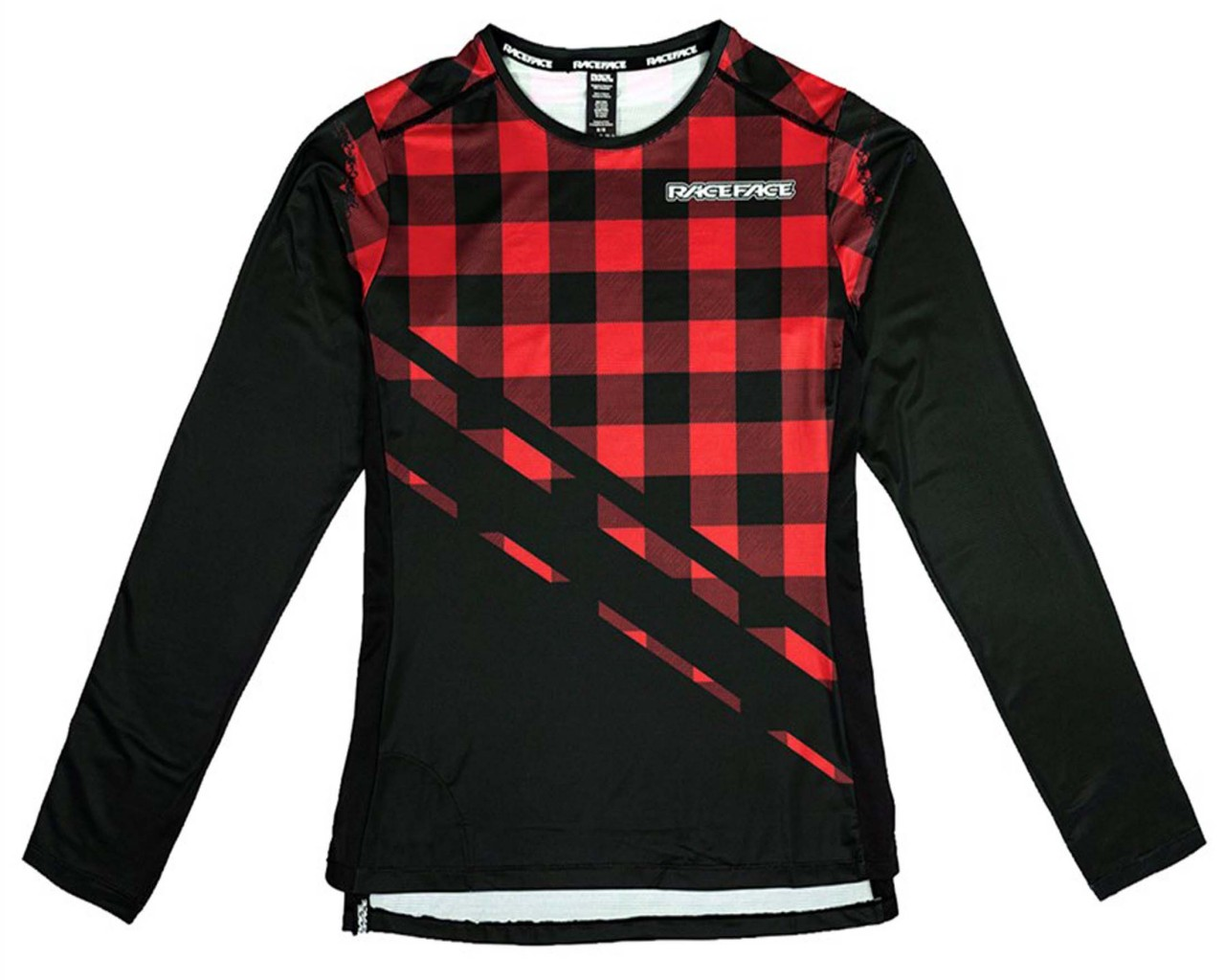 Race Face Diffuse Jersey longsleeve | rouge