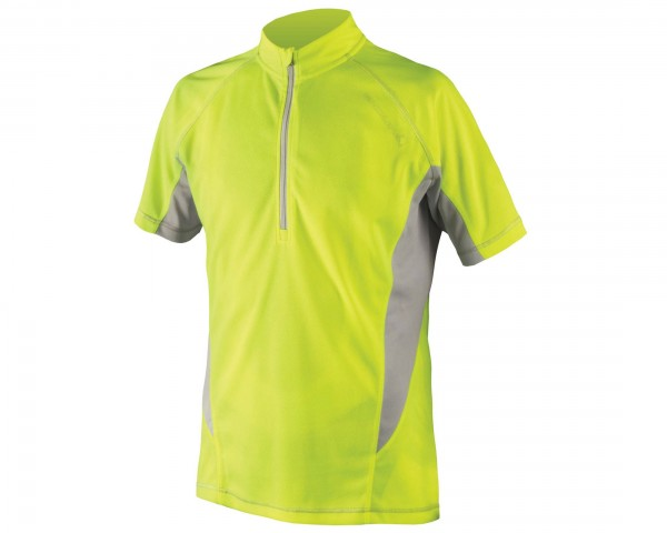 Endura Cairn short sleeve jersey | yellow