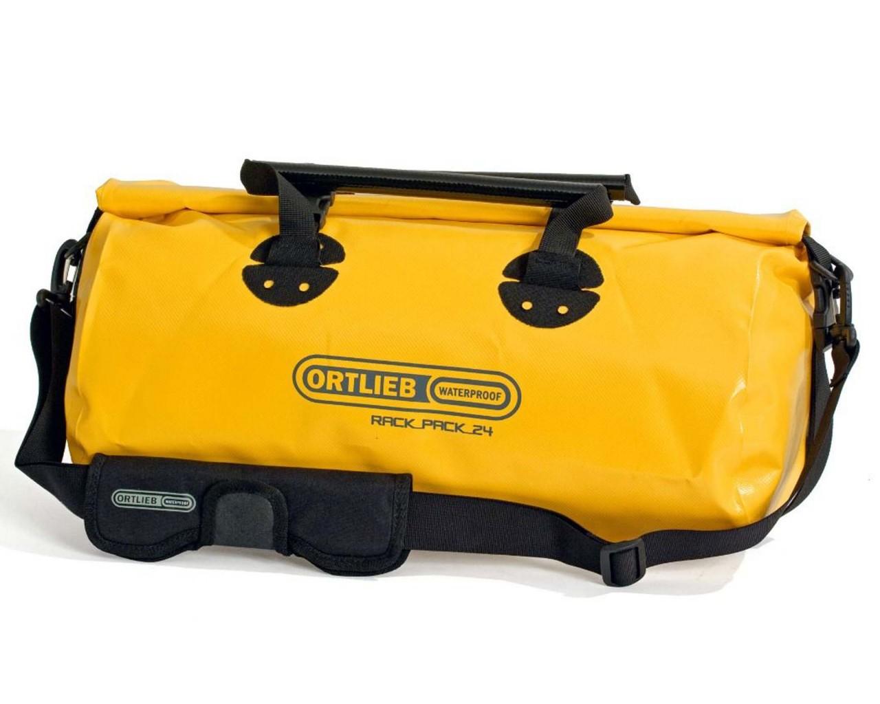 Ortlieb Rack-Pack 24 Liter wasserdichte Tasche | sun yellow