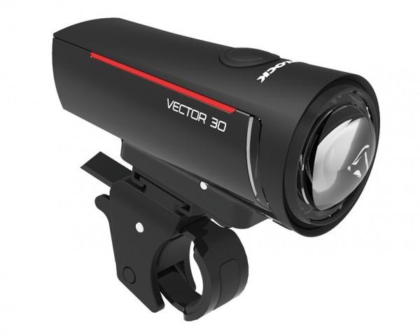 Trelock LED Frontleuchte LS 300 I-GO Vector 30 lux StVZO