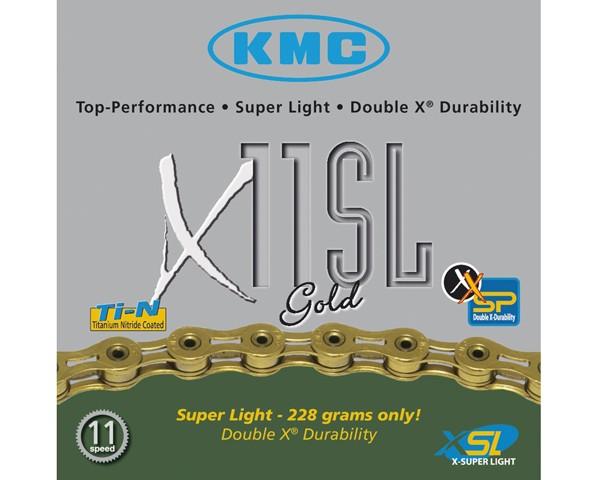 KMC X-11-SL Gold | 11-fach Schaltungskette