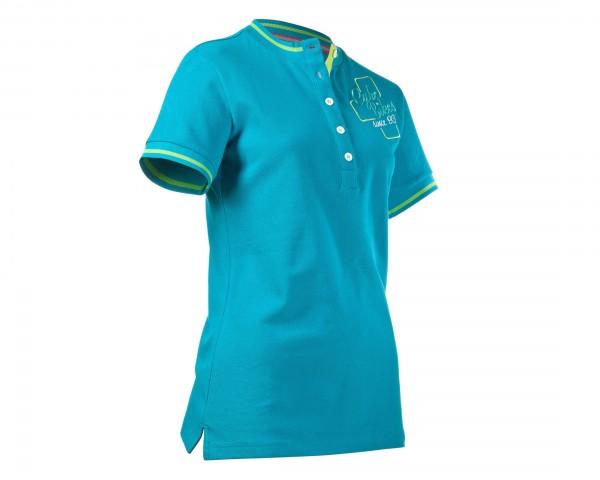 Cube WLS Polo Shirt Cube 93 | karibik blau