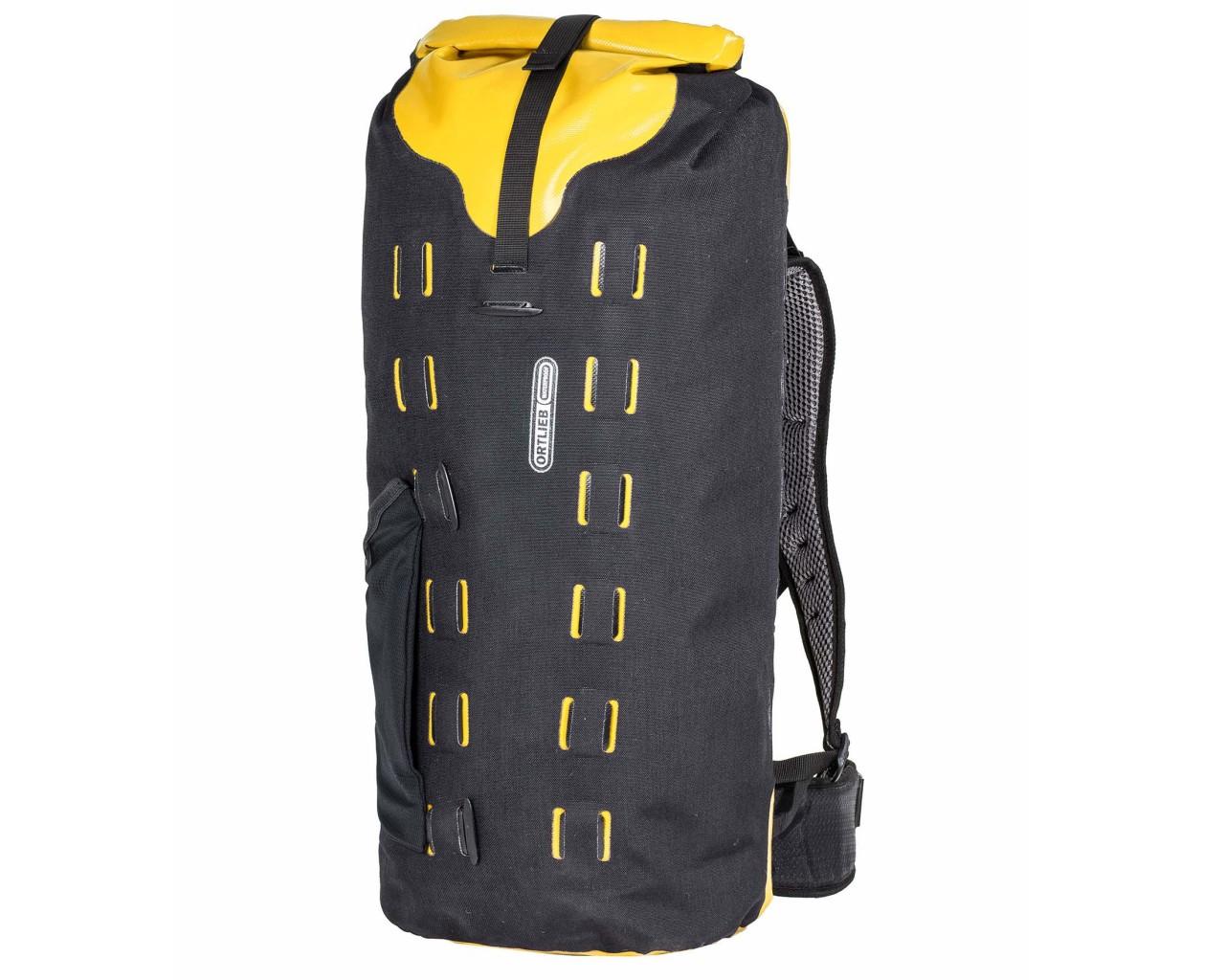 Ortlieb Gear-Pack 32 liter wasserdichter Packsack/Rucksack | black-sunyellow