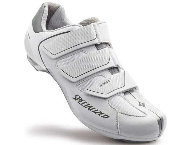 Specialized Womens Spirita Road Schuhe | White-Titanium