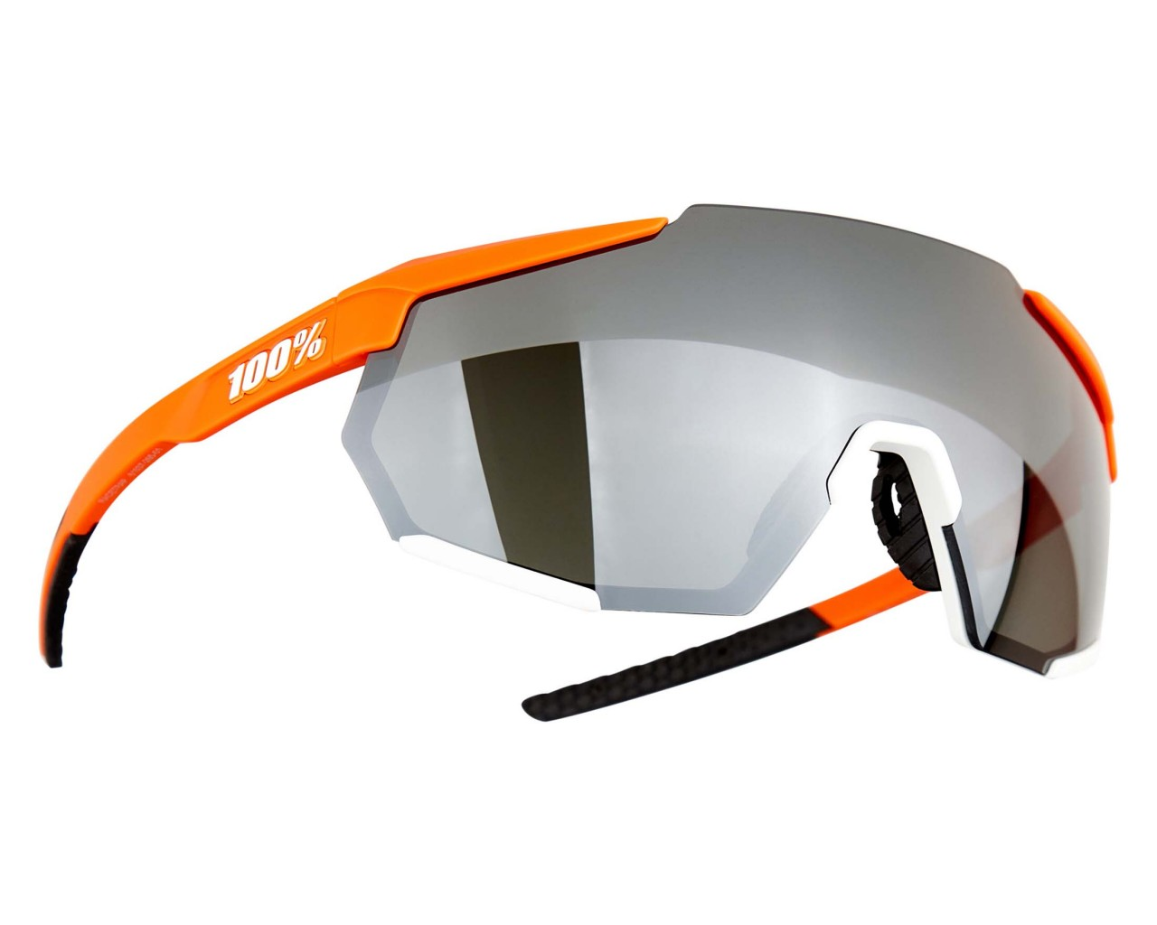 100% Racetrap Mirror Lens - Sports Sunglasses | soft tact Oxyfire