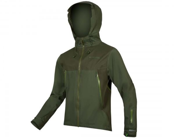 Endura MT500 Wasserdichte Jacke | waldgrün