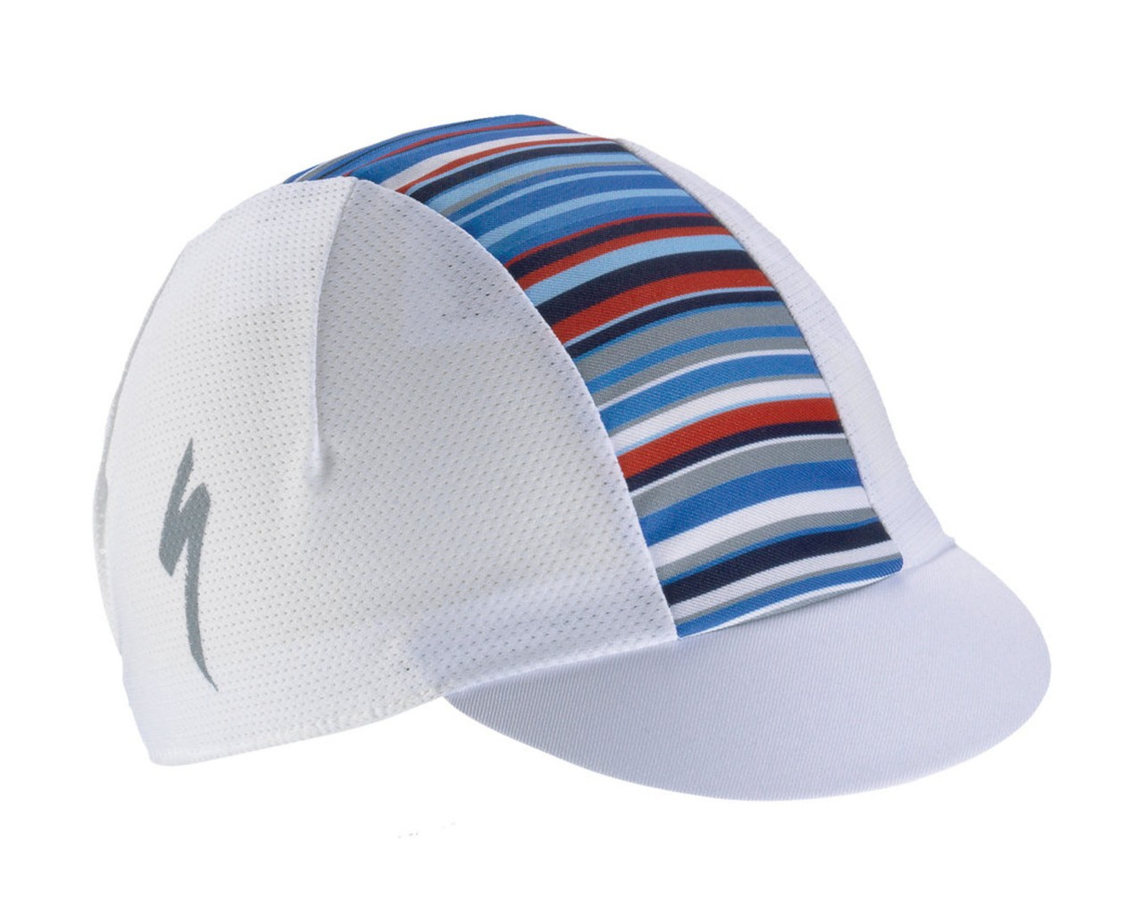 Specialized Fahrradkappe Light Printed Stripes | white