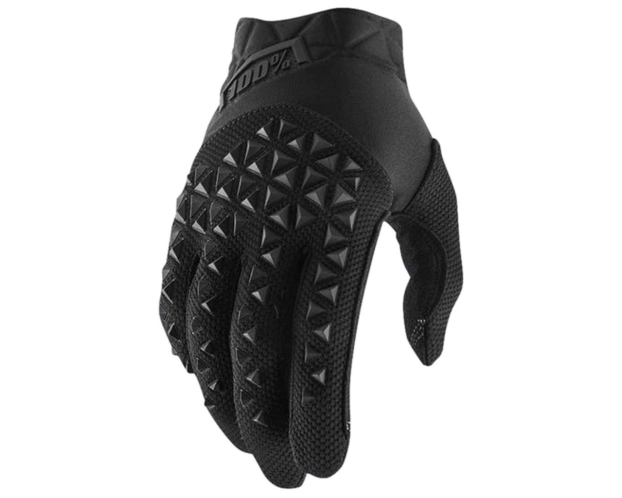 100% Airmatic Gloves | black-charcoal