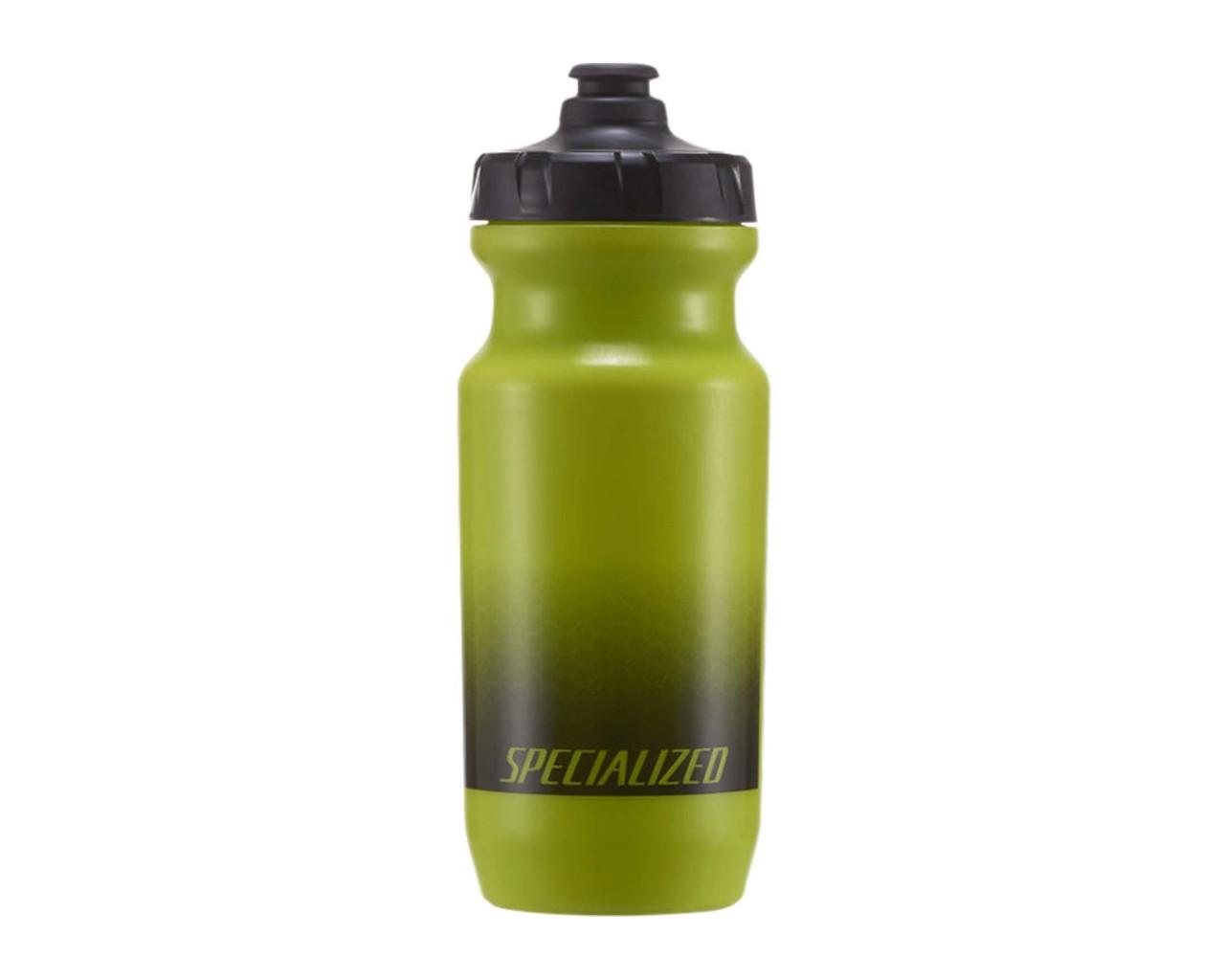Specialized Little Big Mouth 2nd Generation Bottle 21oz | hex fade hyper green black
