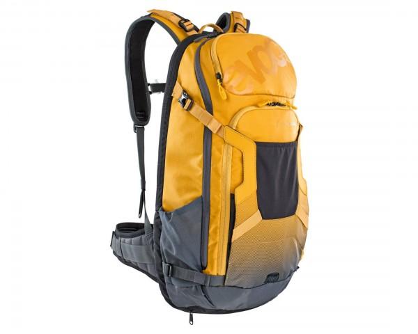 Evoc FR Trail E-Ride 20 Liter Protektor Rucksack   loam-carbon grey